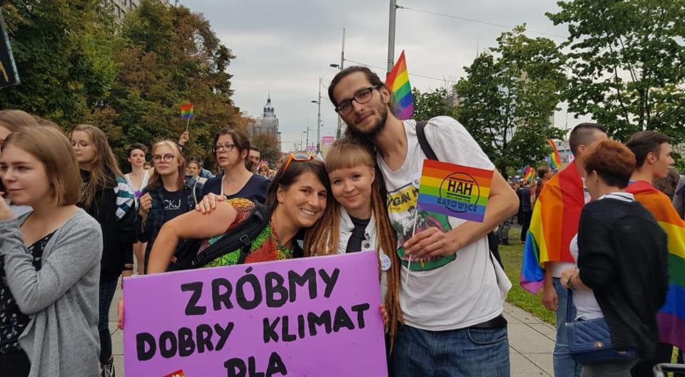 Robimy dobry klimat na Marszu Równości w Katowicach