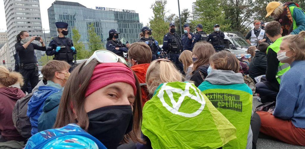 Wspieramy blokadę Warszawy zorganizowaną przez XR