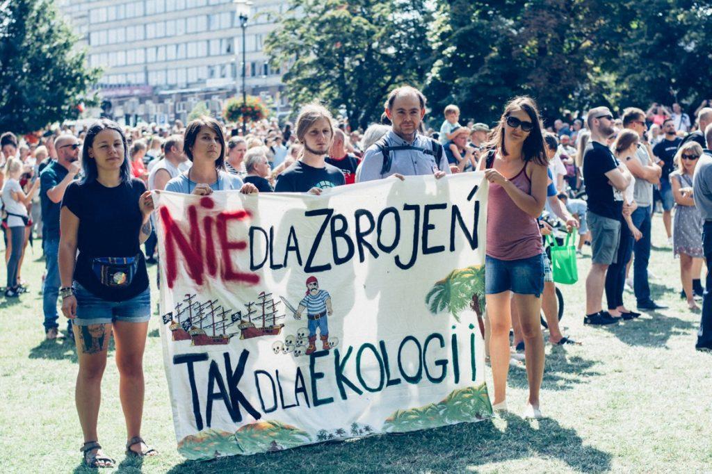 Nie dla zbrojeń, tak dla ekologii