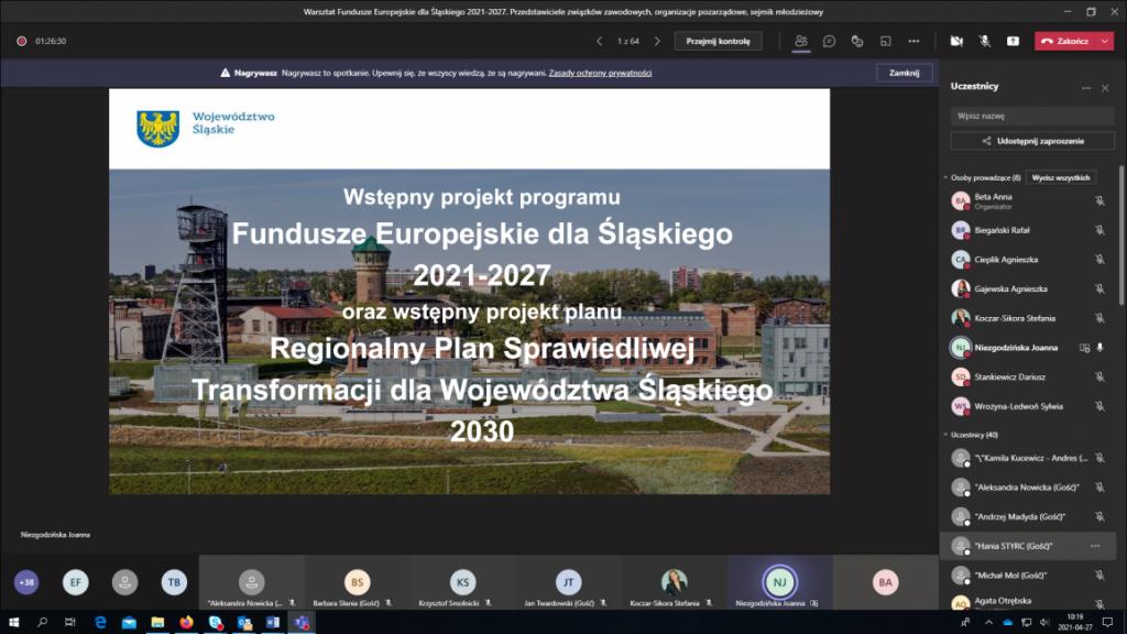 Sprawiedliwa Transformacja Województwa Śląskiego