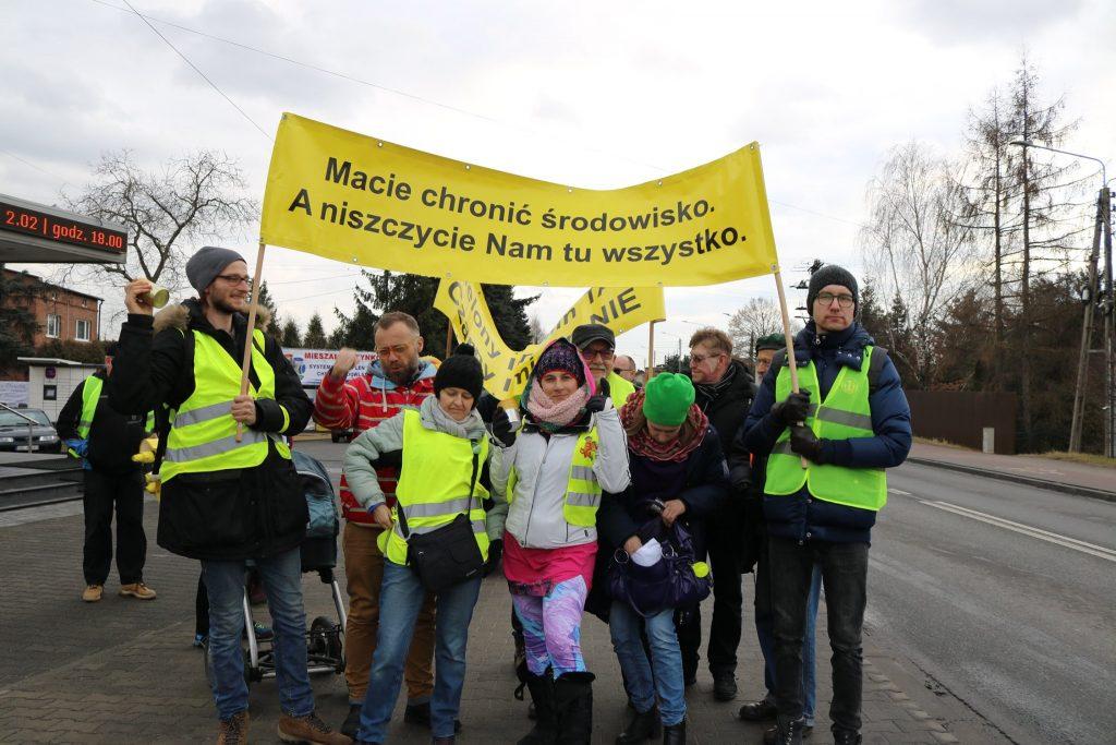 Protestujemy przeciwko kopalnii w Imielinie